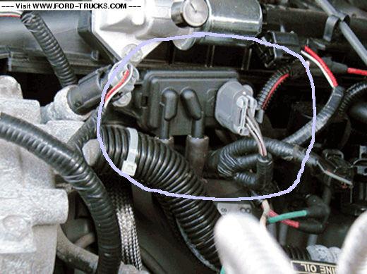Ranger Fix Check Engine Code p1405 DPFE Upstream hose off ...